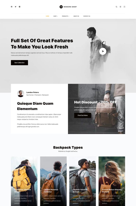 Shop Starter Site