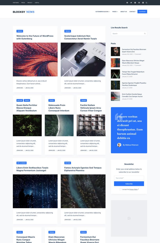 Blog Starter Site