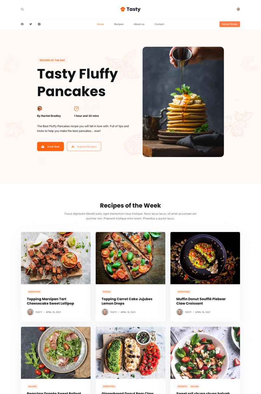 Tasty Starter Site